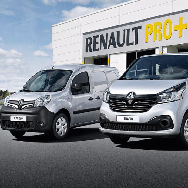 Επαγγελματικά Renault PRO+